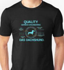 Quality German Engineering  Das Dachshund T-Shirt