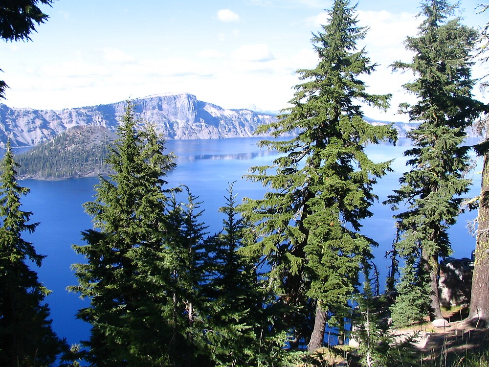 Crater Lake, Ore by Boudica