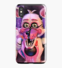 Sister location-funtime foxy iPhone Case/Skin