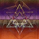Cube of Metatron Diamond by Cveta