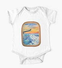 Above The Clouds One Piece - Short Sleeve
