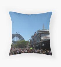 Queen Victoria in Sydney Throw Pillow