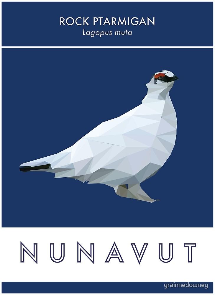 Nunavut - Rock Ptarmigan by grainnedowney