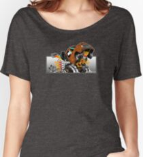 Wheelie Cool Old Truck Women's Relaxed Fit T-Shirt