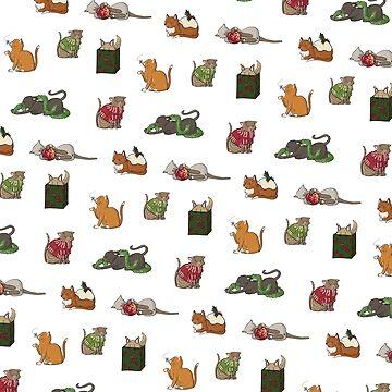 Kitty Christmas: pattern by Kakibot