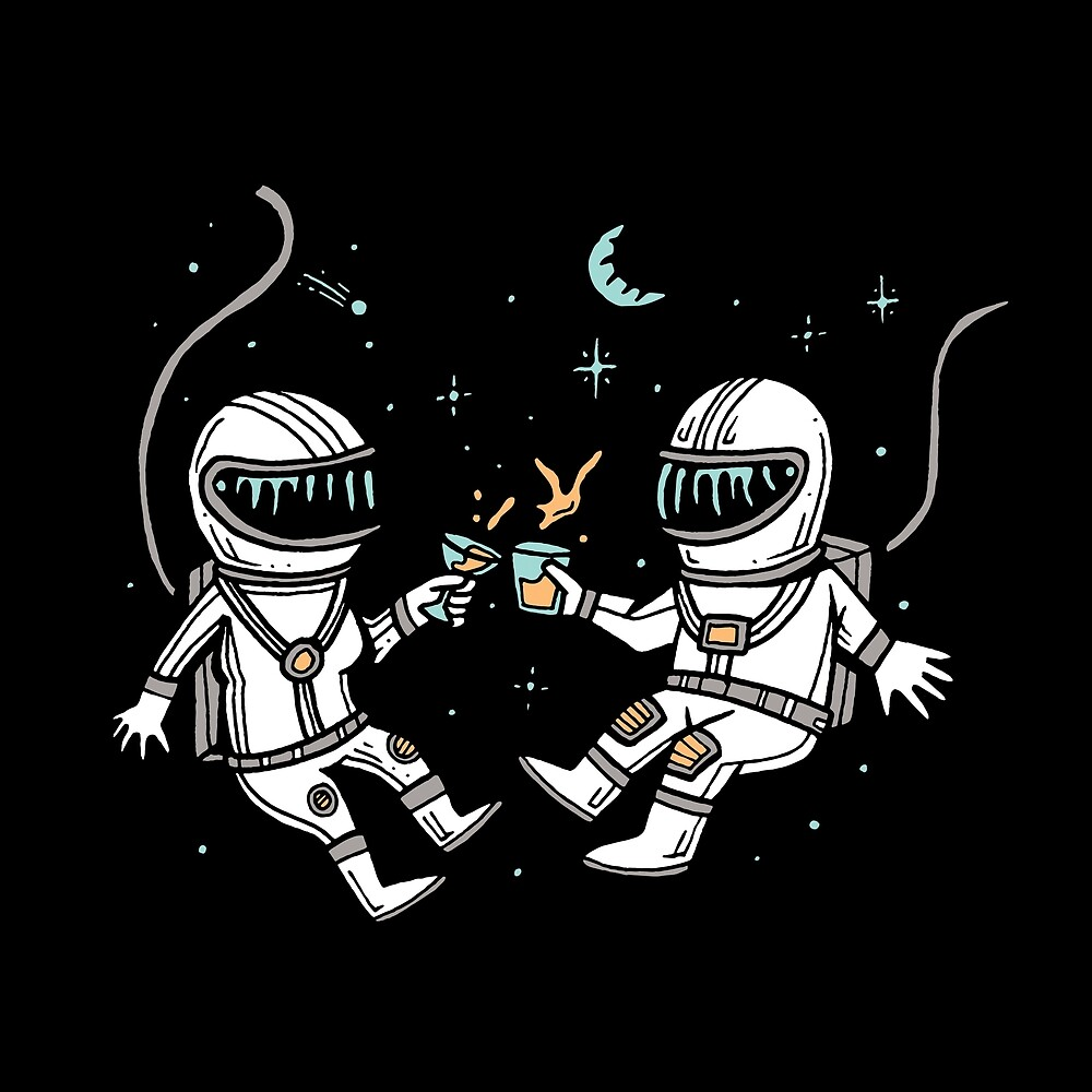 Cheers in Space by Kevin Tudball