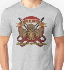 Day of the Squirrel - Squirrel Commercial Parody - Coupon Cutting Squirrels Revolt - Nut Up My Brothers Unisex T-Shirt
