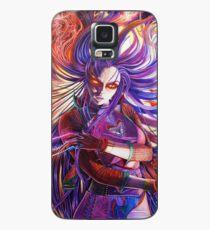 Violent Violet Demoness Illustration Case/Skin for Samsung Galaxy