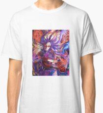 Violent Violet Demoness Illustration Classic T-Shirt