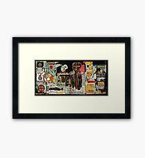 Jean-Michel Basquiat Artwork Framed Print