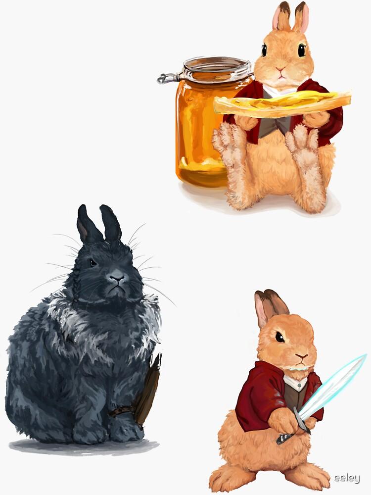 Bilbo Bunnins und Thorin Oakengnaw von eeley