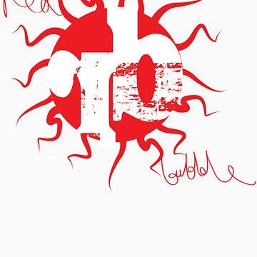 Red Bubble Logo  by Kelwin