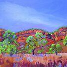 Kununarra Escarpment Northern Territory by Virginia McGowan