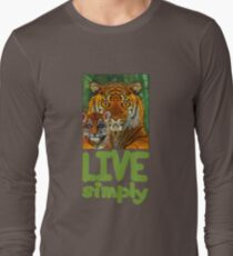 Live Simply Tiger T-Shirt