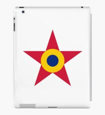 Roundel of the Romanian Air Force, 1947-1985 iPad Case/Skin