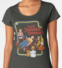 Let's Summon Demons Women's Premium T-Shirt