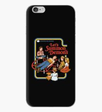 Let's Summon Demons iPhone Case