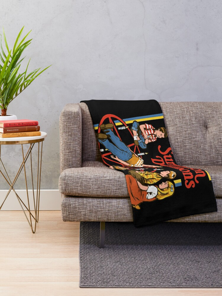 Alternate view of Let's Summon Demons Throw Blanket