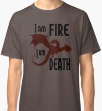 Fire & Death Classic T-Shirt