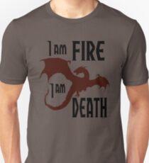 Fire & Death Unisex T-Shirt