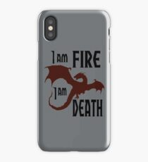 Fire & Death iPhone Case/Skin