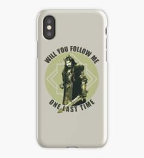 Will You Follow Me iPhone Case