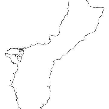 Guam Map by Basement Mastermind by BasementMaster