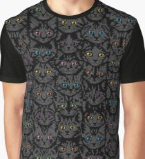 Kittens - Spooky Eyes Graphic T-Shirt