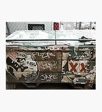 Graffiti 044 Photographic Print