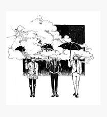Umbrella inktober Photographic Print