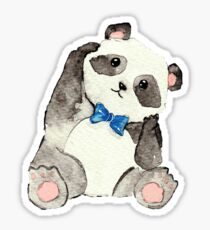 Baby Boy Panda Sticker