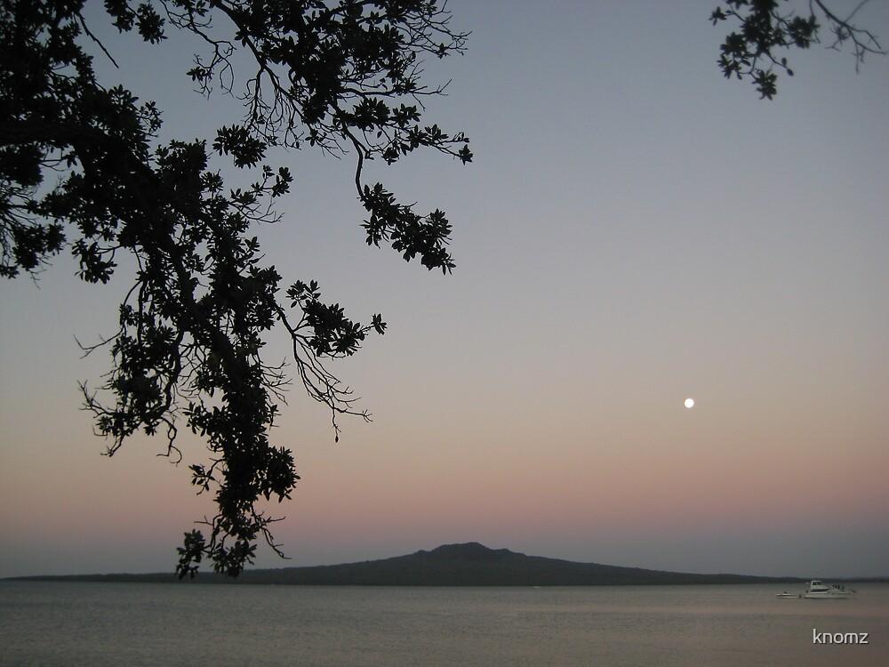 Sunrise over Narrow Neck Beach by knomz