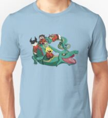 Xiaolin Showdown Pokemon Crossover T-Shirt
