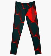 DRAGONHEART - Scaled armor pattern Leggings