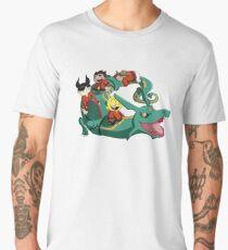 Xiaolin Showdown Pokemon Crossover Men's Premium T-Shirt