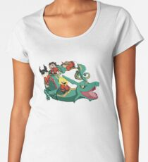 Xiaolin Showdown Pokemon Crossover Women's Premium T-Shirt