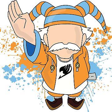 Master Makarov - Fairy Tail by Mrmasterinferno