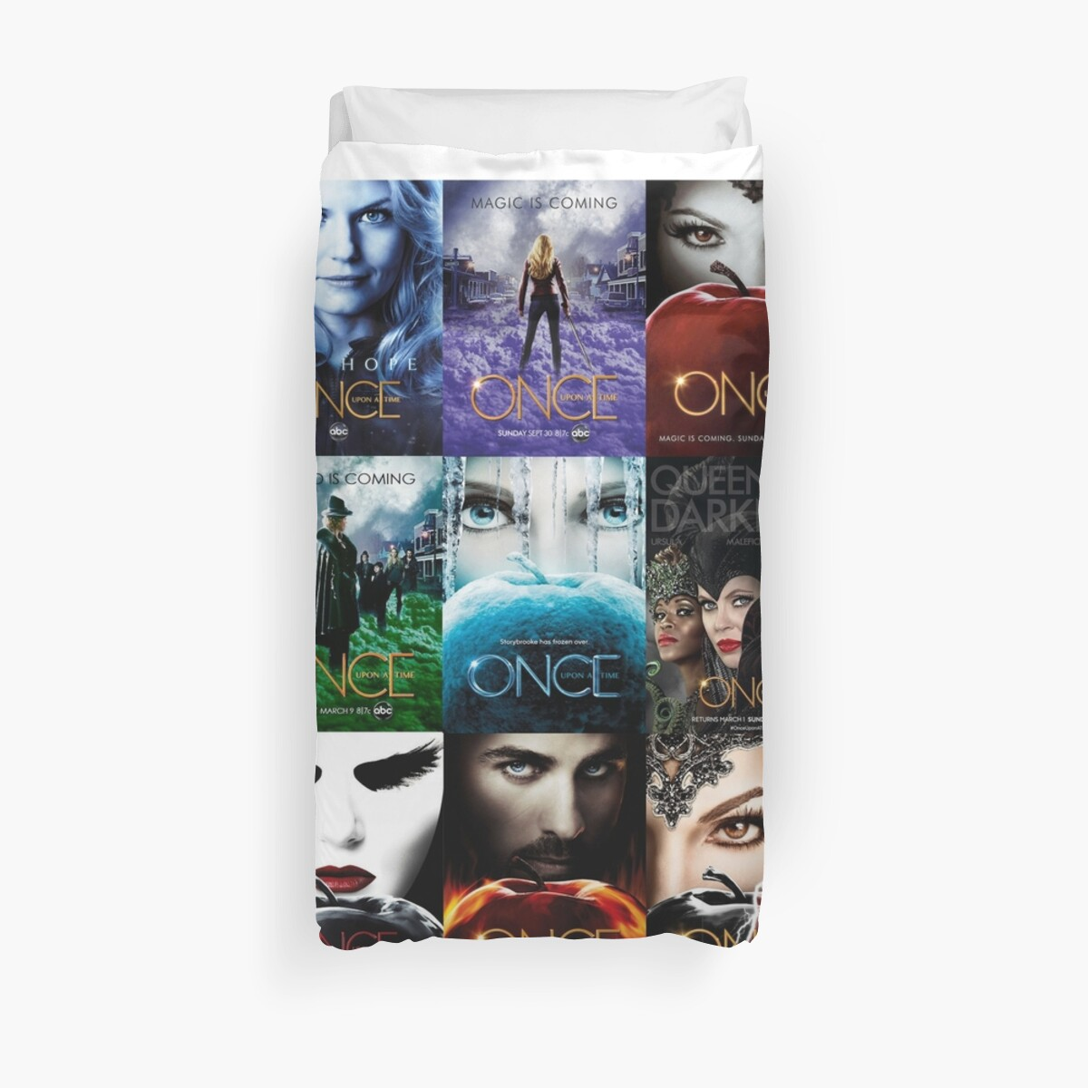 Quot Once Upon A Time Quot Duvet Covers By Willow Lvl Redbubble