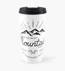 mountains transparent Travel Mug