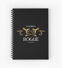 Cuaderno de espiral Gone Rogue - Rogues Tabletop RPG Addict