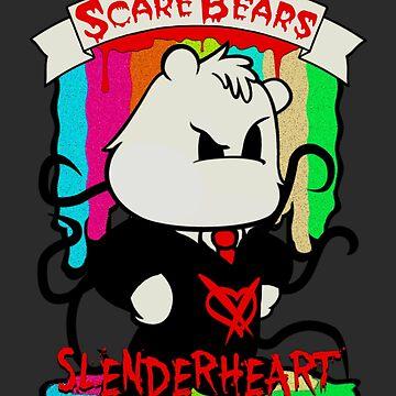 Scare Bears Slenderheart by KaspirJones
