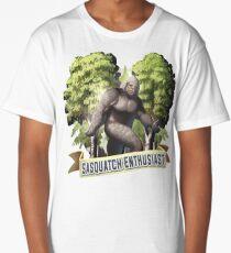 Sasquatch Enthusiast Long T-Shirt