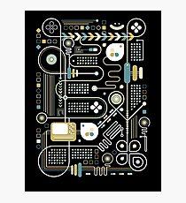Circuit Photographic Print