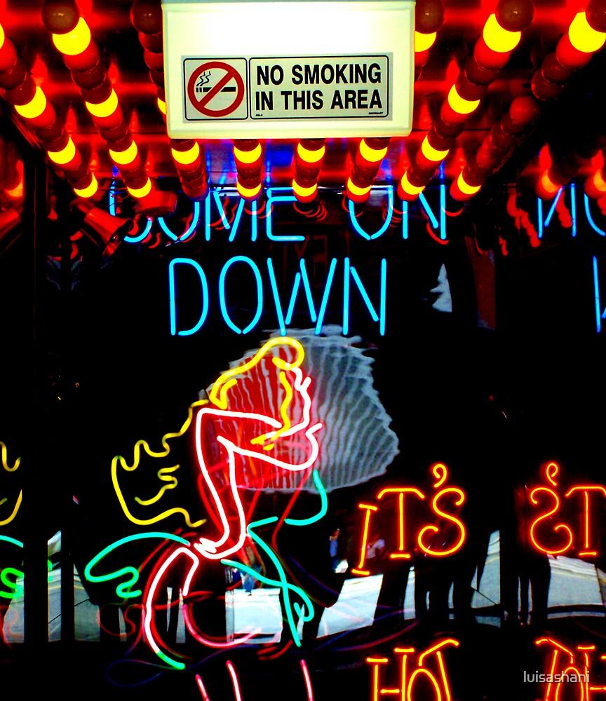 Strip Club Neon by luisashani