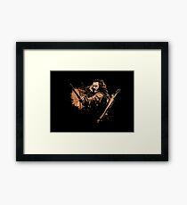 BARD THE BOWMAN Framed Print