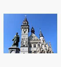 Icons of Aalst, Belgium Photographic Print