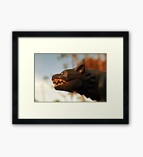 Swamp-wolf Framed Print