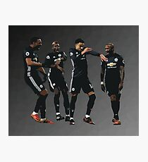 Pogba Lingard Martial Young Milly Rock Photographic Print