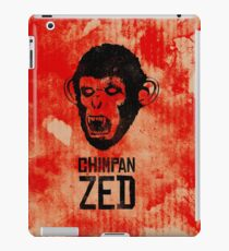 Chimpan ZED iPad Case/Skin