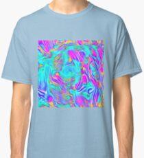 Abstract Blue zodiac color #7E9DD8 Classic T-Shirt